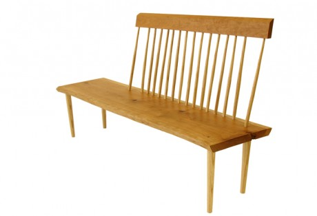 George Nakashima Style Child's Bench