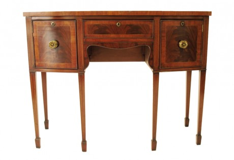 Pair of Regency Mahogany Side Boards