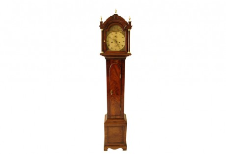 George III Diminutive Long Case Clock