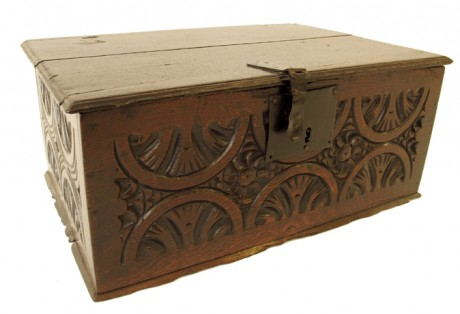 Late 16th-Early 17th c. Bible Box