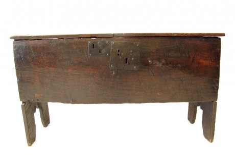 16th c. Boarded Coffer